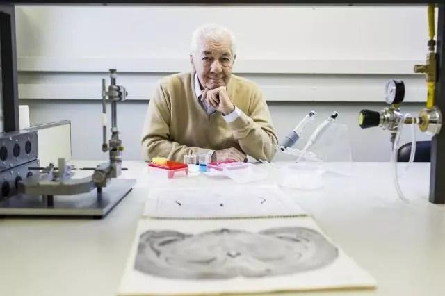 O neurologista Ivan Izquierdo, 77, professor e pesquisador em atividade