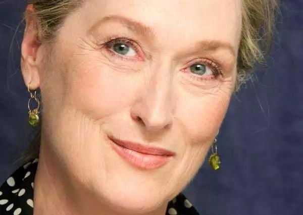 A atriz Meryl Streep, que completou 65 anos em junho