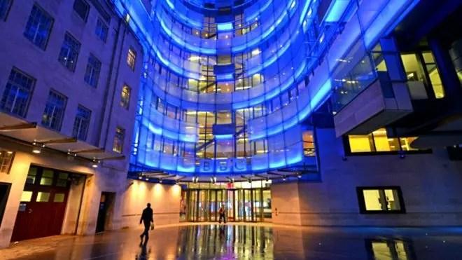 A nova sede da BBC, em Londres