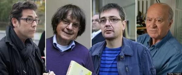 Os quase cartunistas mortos são Charb, Cabu, Tignous e Wolinski
