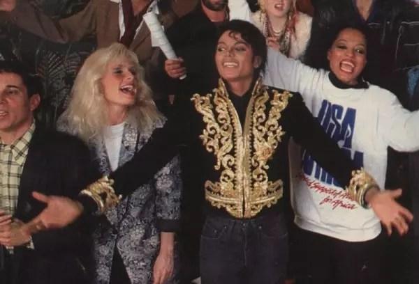 Michael Jackson foi o primeiro a chegar ao estúdio para gravar
