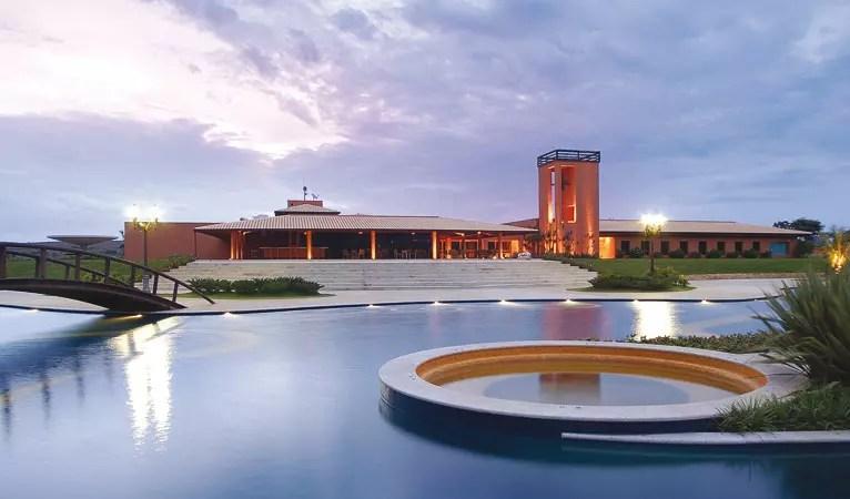 Hotel Águas do Treme, em Minas Gerais
