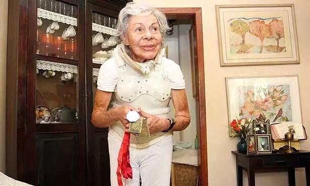 Anna Maria Moretzsohn Andrade caminha todos os dias da semana