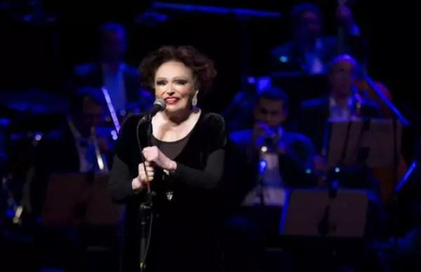 No show Bibi Canta Sinatra. Ela completará 93 anos em primeiro de junho