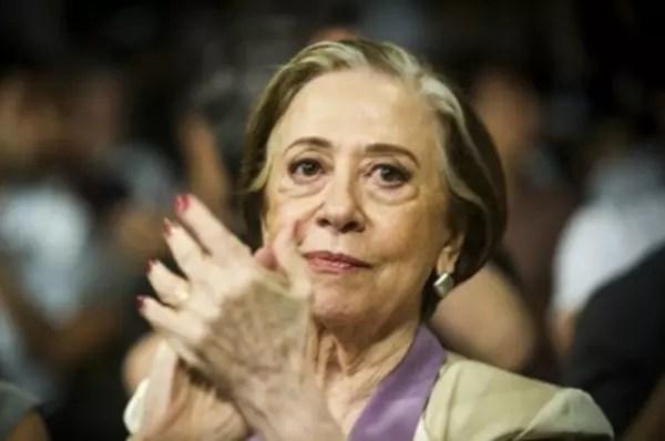 Perguntada sobre o que diria à presidente Dilma, a atriz deu a resposta acima