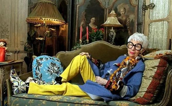 Iris Apfel,  a estilosa nonagenária novaiorquina