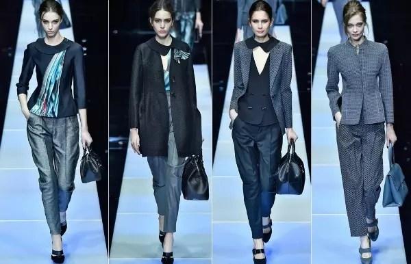 Os sensuais ternos - uma criação  marcante do estilista