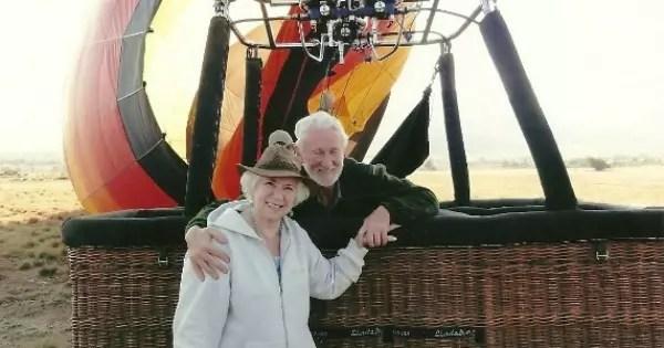 """Vera Iaconelli num balão na África do Sul: """"Comecei a viajar quando tinha quase 80 anos"""""""