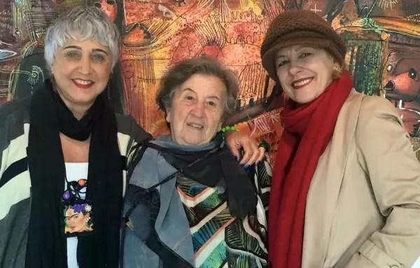 Juçara Costa, de 64 anos, Matilde Biadi, de 77, e Heloisa Duarte, de 62.