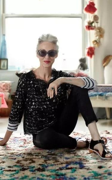 Linda Rodin, 63 anos,  é estilista e empresária muito bem sucedida