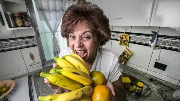 Marly Prazeres descontava a ansiedade comendo muito quando estava em casa