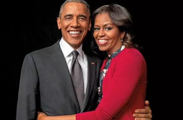 Obama e Michelle como estão agora