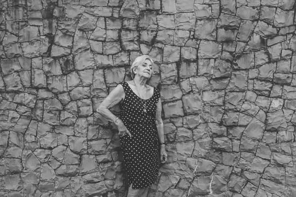 Foto em branco e preto, para dar mais realismo à cena
