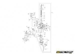Allumage  TZR 50 et Xpower  50factory