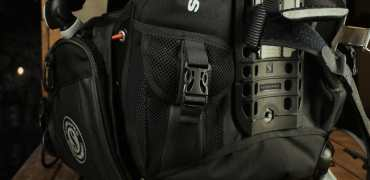 Scubapro X-Black trim weight pockets