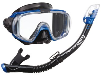 Tusa Visio Tri-Ex | Full Face Snorkel Alternative