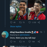 - Screenshot 20210711 2125562 150x150 - Checkout What Ronaldo Posted On Twitter Hours After Messi Won Copa America Trophy