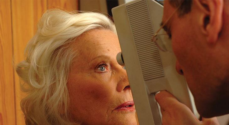 eye test over 50s