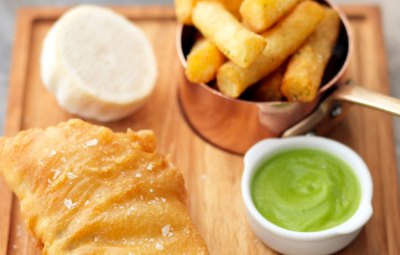 Tom Kerridge fish and chips recipe
