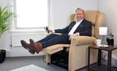Celebrity doctor Rob Hicks partners with UK furniture company to help customers with age-related health and mobility issues
