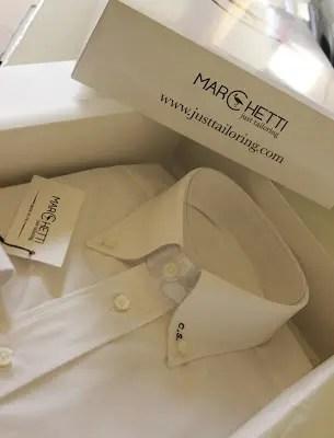 confezione di camicia su misura
