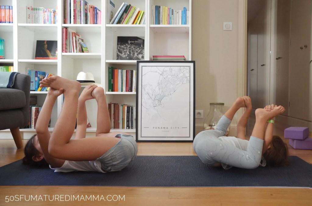 yoga mamma figli