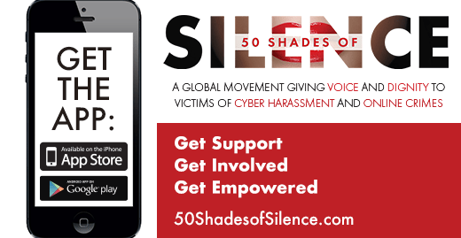 50 Shades of Silence launches new mobile app to support and empower victims of revenge porn and cyberbullying