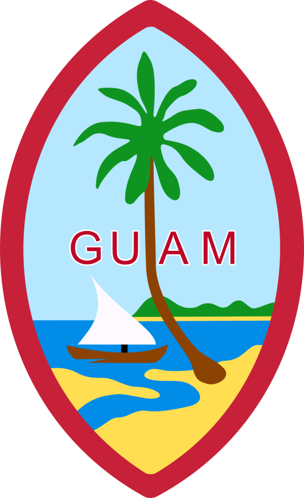Guam State Information Symbols Capital Constitution Flags Maps Songs