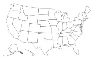 Each number is in a separate file so you only need to download the numb. Blank Us Map 50states Com