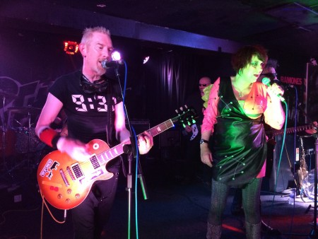 The Rezillos at the Beat Generator Live