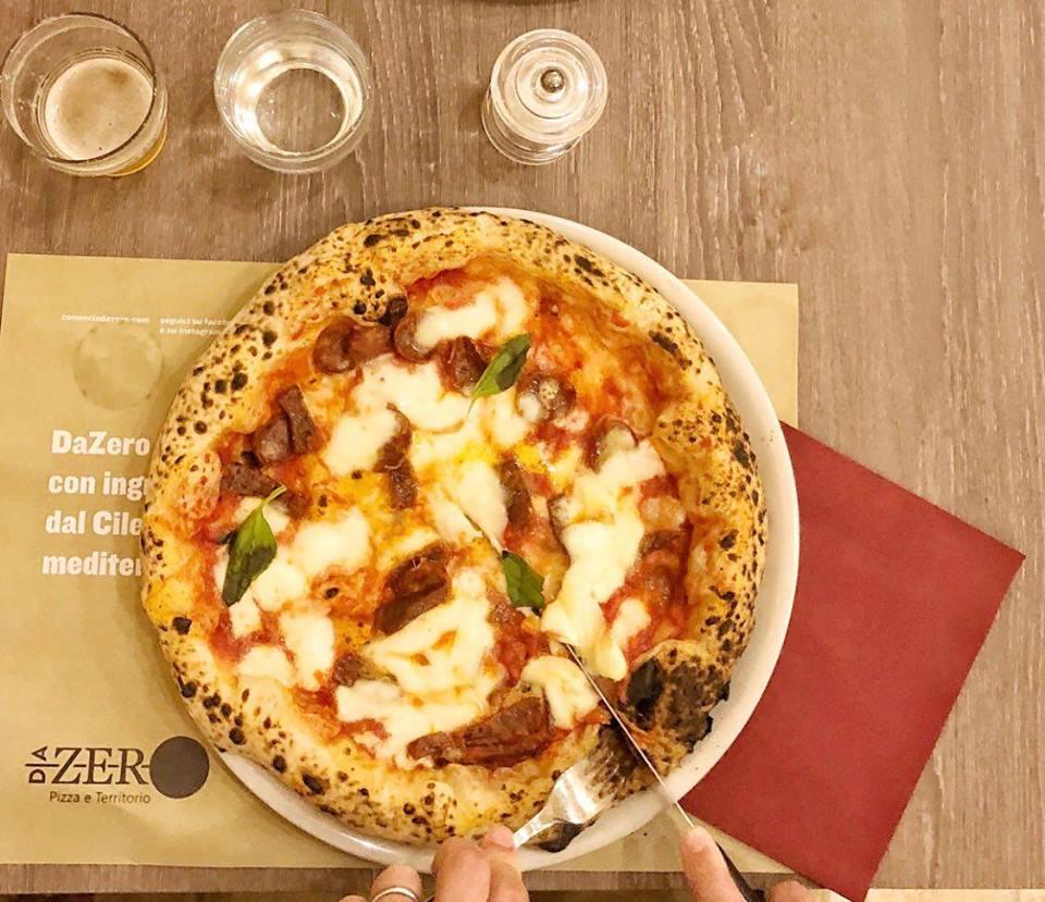 Pizza della Pizzeria Da Zero
