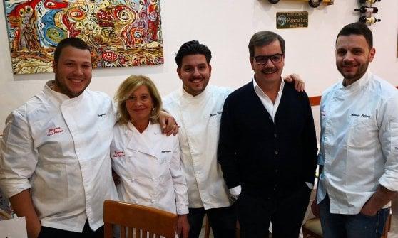 Marco e Antonio Pellone con la loro famiglia