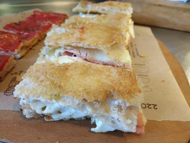 La pizza farcita di Gabriele Bonci