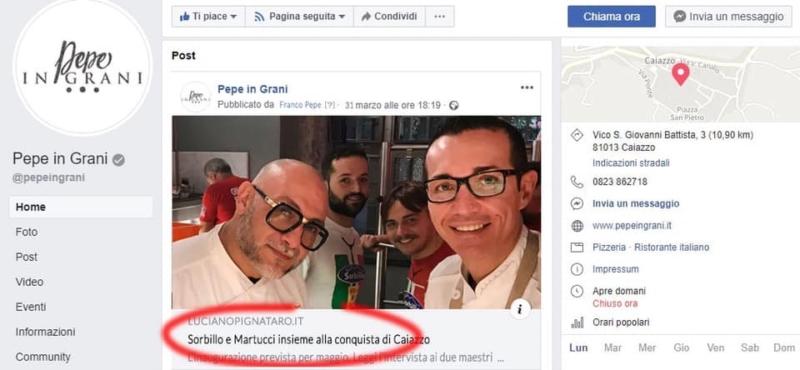 Lo scherzo organizzato da Pepe, Martucci e Sorbillo