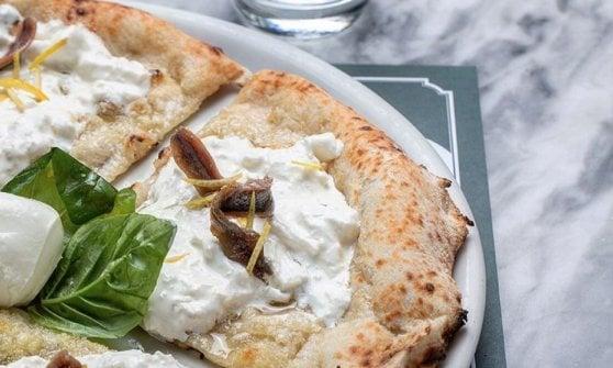 Burrata, alici e zeste di limone - Capuano's