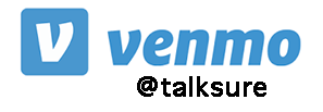 Venmo @talksure