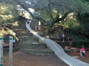 Codornices concrete slide