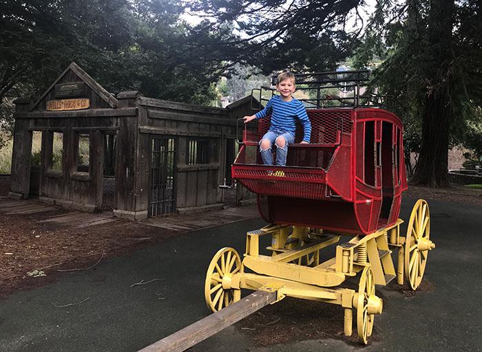 Montclair Park Wagon