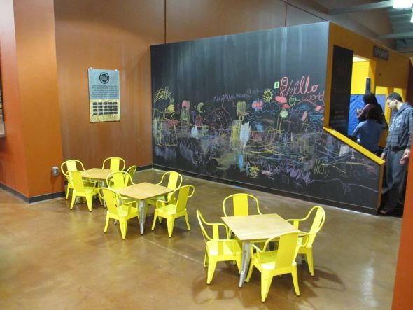 eat and play at Emeryville Public Market: 99 East Bay restaurants loved by kids