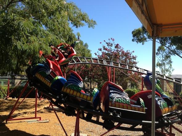 Pixieland dragon coaster