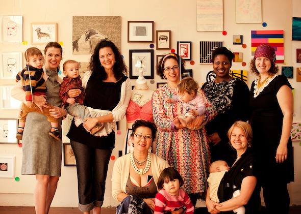 Mothership Hackermoms in Oakland and Berkeley