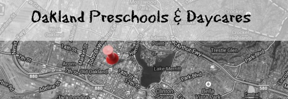 Oakland preschools and daycares, provided by Savvy Source + 510families