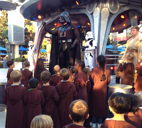 Jedi Training and other non-ride favorite features of Disneyland