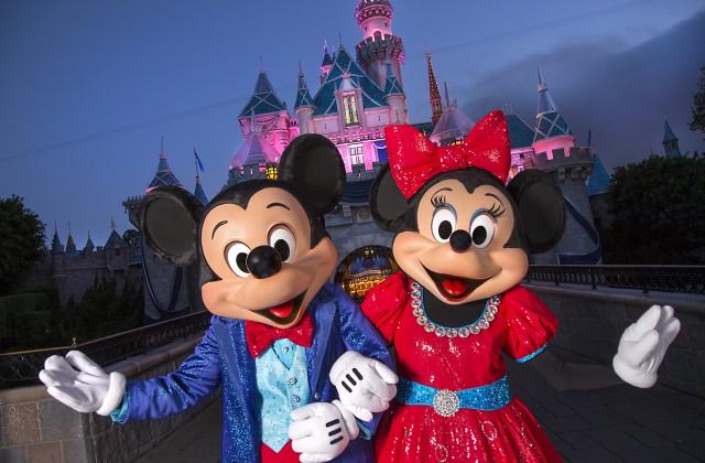 Disneyland Diamond Celebration: Mickey and Minnie
