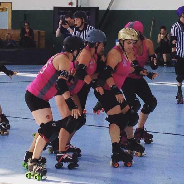 Bay Area Roller Derby, a kid report