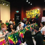 Mom's night out at Pinot's Palette