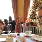 Holiday Tea at the Sir Francis Drake Hotel