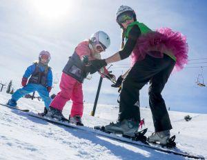 Ski Tahoe Donner with Kids