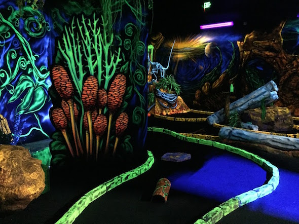 Lost worlds in Livermore by 510families: mini golf
