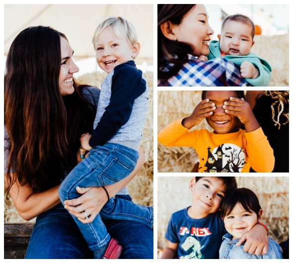 Pumpkin Party Playdate at Speers Family Farm with portraits by Icarian Photography
